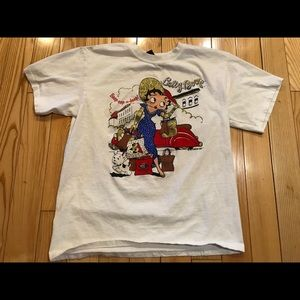 Vintage BETTY BOOP T SHIRT LARGE 1995'
